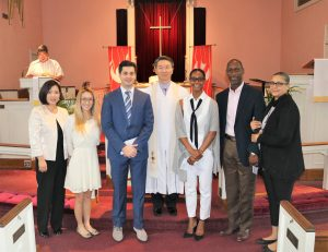 Adult Baptism in Woodbridge UMC