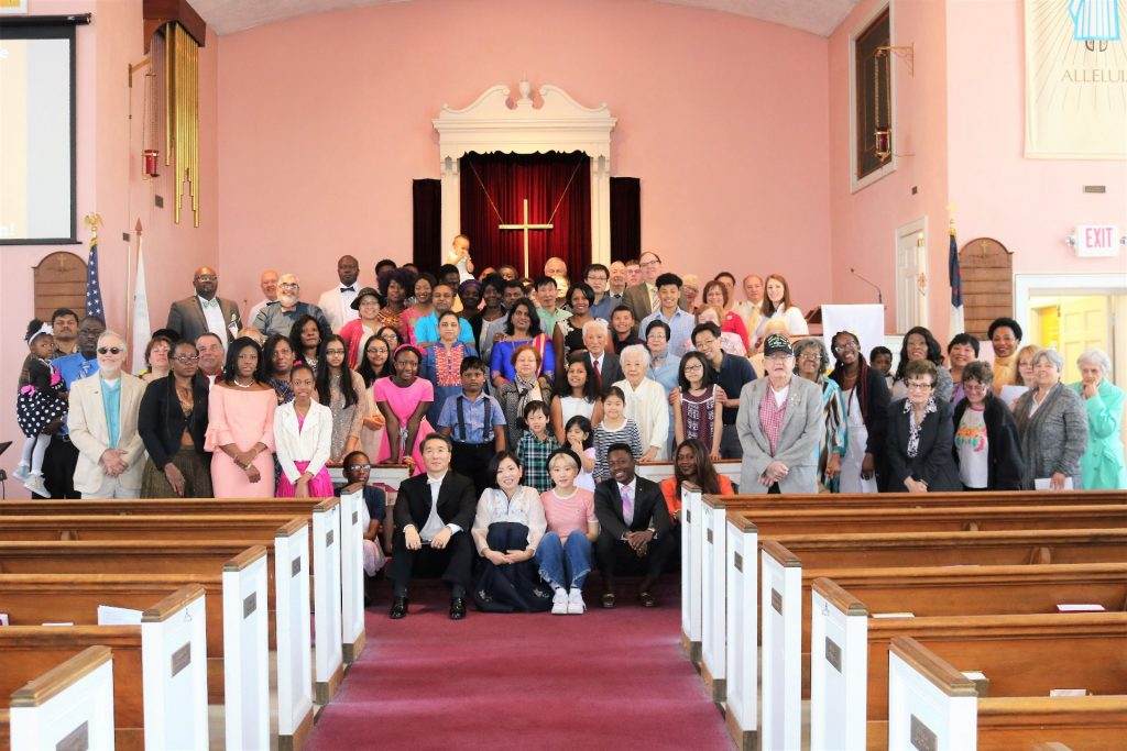Congregation on Easter 2017